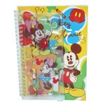 Note Book Set Mickey