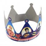Justice League Crown Party Hat
