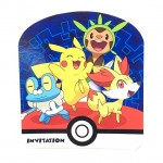 Pokemon Invitation Card