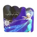 Frozen Invitation Card