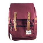 Sanwa Backpack Import Maroon