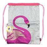 Sanwa Tas Serot Glitter Flamingo