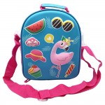 Hardtop Cover Lunch Bag Flamingo A