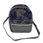 Sanwa Mini Backpack Reverse Sequin Black