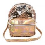 Sanwa Mini Backpack Reverse Sequin Gold