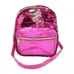 Sanwa Mini Backpack Reverse Sequin Pink