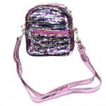 Sanwa Sling Bag Reverse Sequin Pink