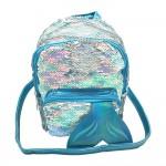 Sanwa Mini Backpack Reverse Sequin Mermaid