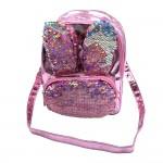 Sanwa Mini Backpack Reverse Sequin Bunny