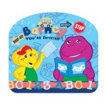 Barney Invitation Card