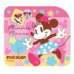 Minnie Invitation Card
