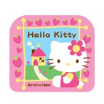 Hello Kitty Invitation Card