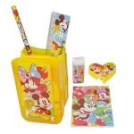 Mickey and Minnie Stationary Set
